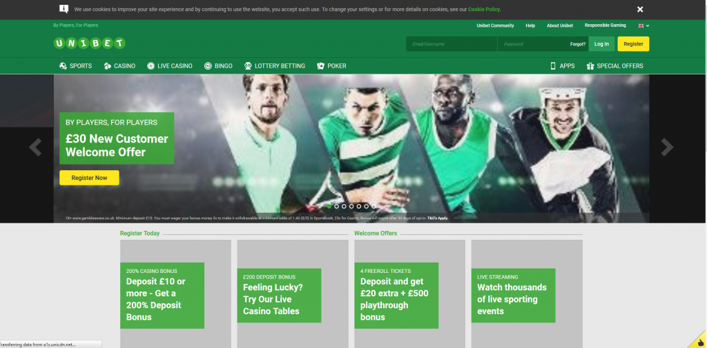 Unibet.co.uk - Unibet.com